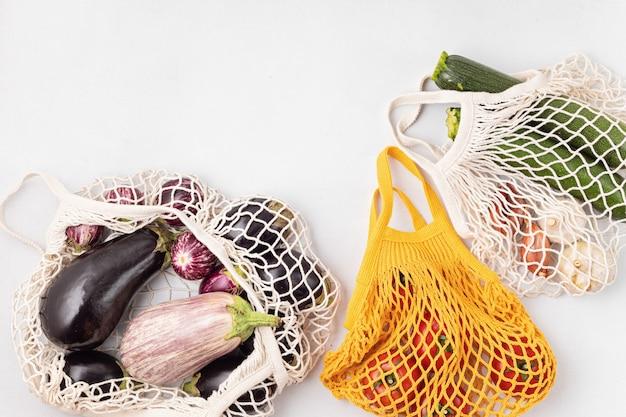 Soorten biologische groenten en fruit