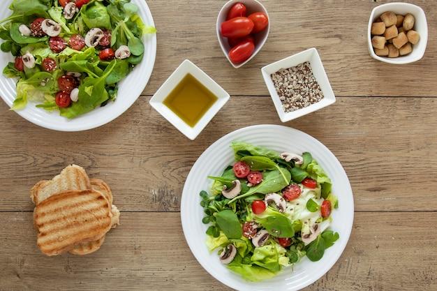 Souces voor salade