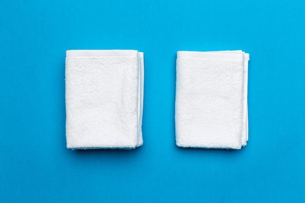 Spa handdoeken, bovenaanzicht