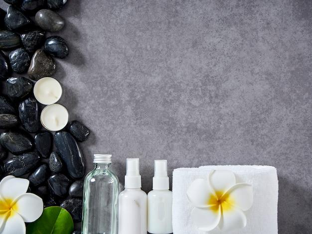 Spa massage concept en huidverzorging