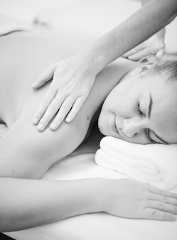 Spa salon therapie behandeling
