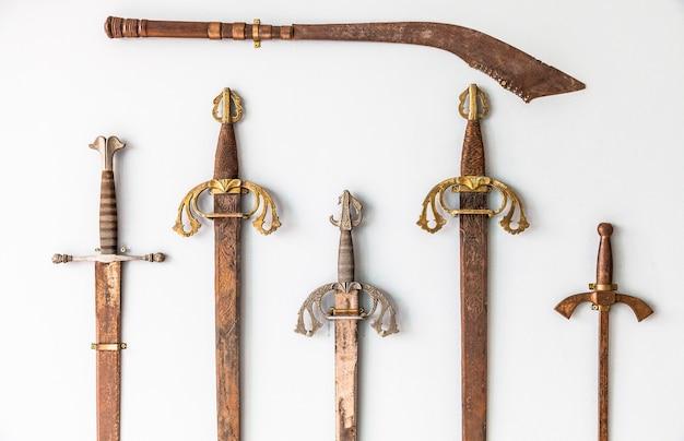 Spaans zwaard collectie detail, sigle xvi