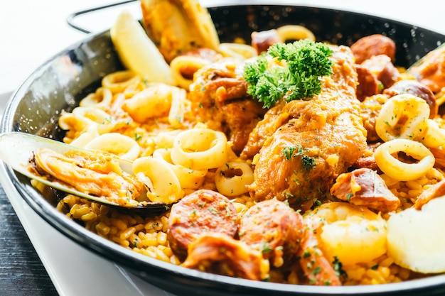 Spaanse paella
