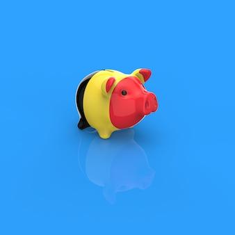 Spaarvarken - 3d illustratie