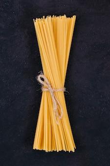 Spaghettiachtergrond in bundel