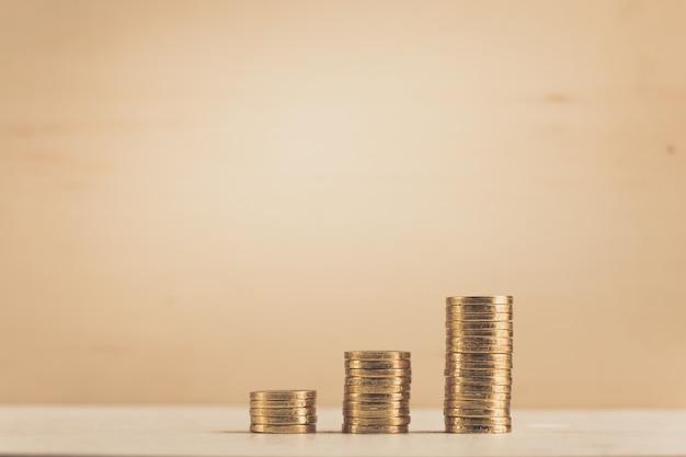 Sparen, bedrijfsgroeiconcept