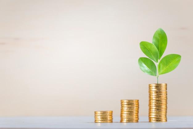 Sparen, bedrijven groeien op