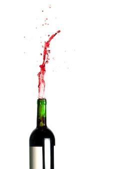 Spattende rode wijn