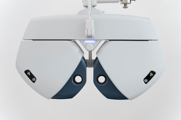Speciale apparatuur voor oogheelkundige problemen