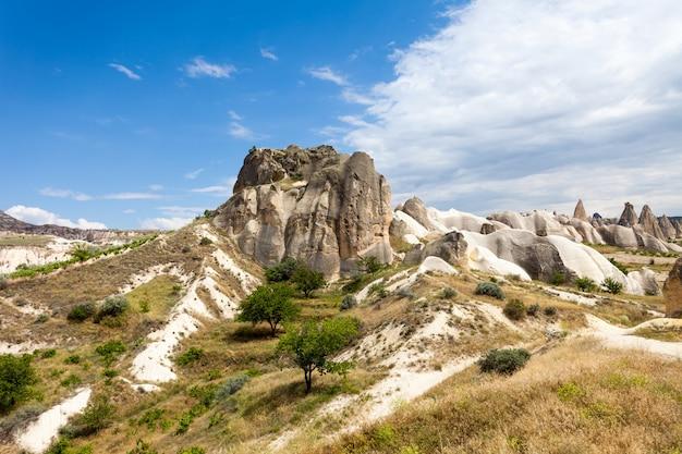 Spectaculaire rotsformaties in cappadocië