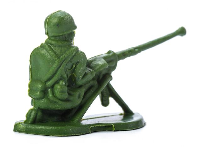 Speelgoed soldaat