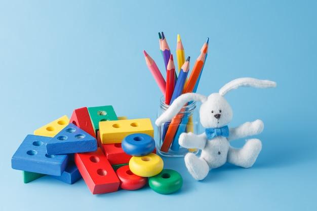 Speelgoed voor kinderen om te leren voor vaardigheden