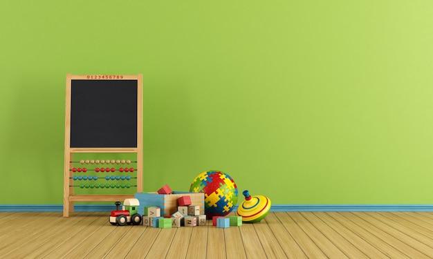 Speelkamer met speelgoed