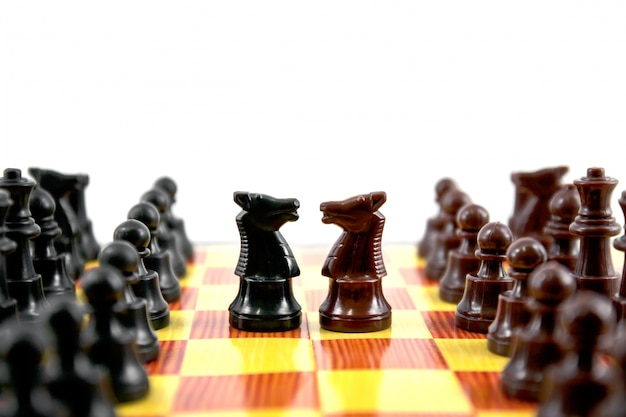 Spelen sport spel zet strategie