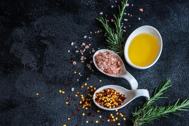 Spice koken concept