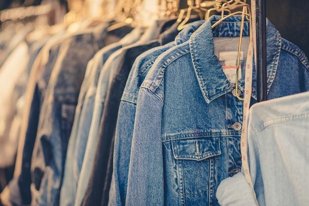 Spijkerbroek shirt, vintage