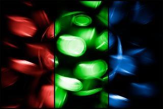Spinnen disco lamp rgb achtergrond