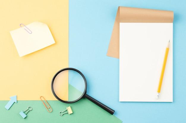 Spiraal school notitieblok met briefpapier