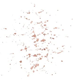 Splash druppels aquarel achtergrond