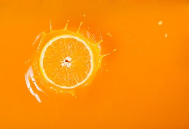 Splash sinaasappelsap