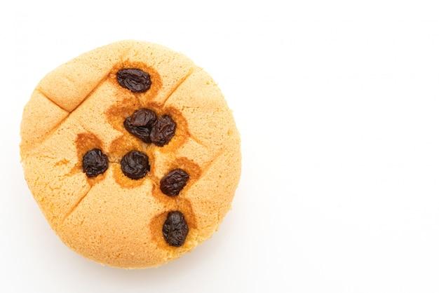Spons cupcake met rozijnen