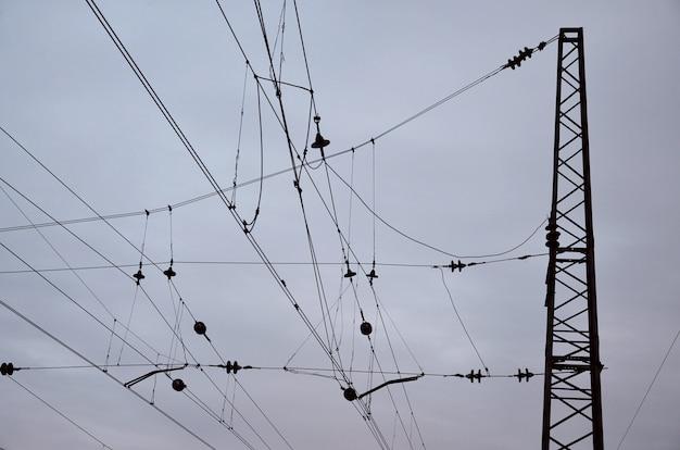 Spoorlijn bovenleidingen