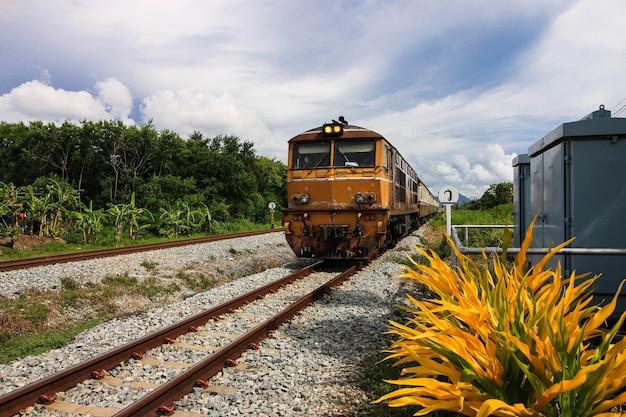 Spoorweg, trein