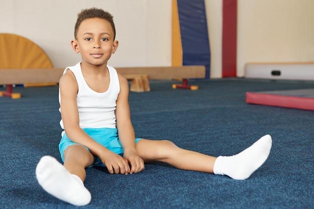 Sport, activiteit, motivatie en discipline concept.