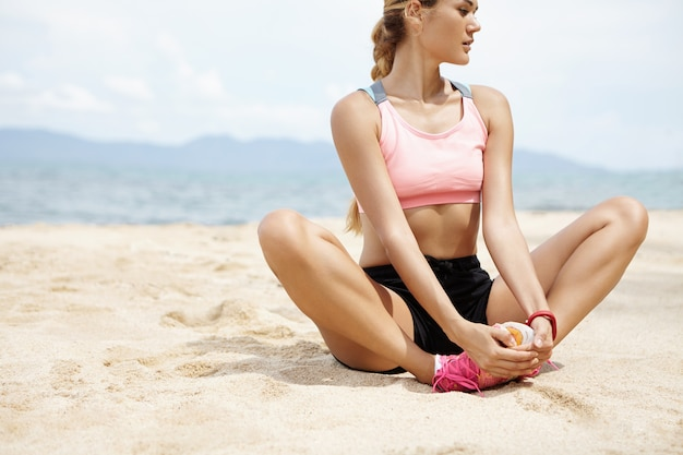 Sport, fitness en een gezonde levensstijl.