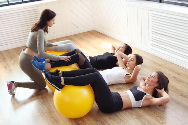 Sport indoor, fitness in de sportschool