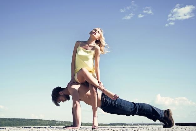 Sport liefde fitness