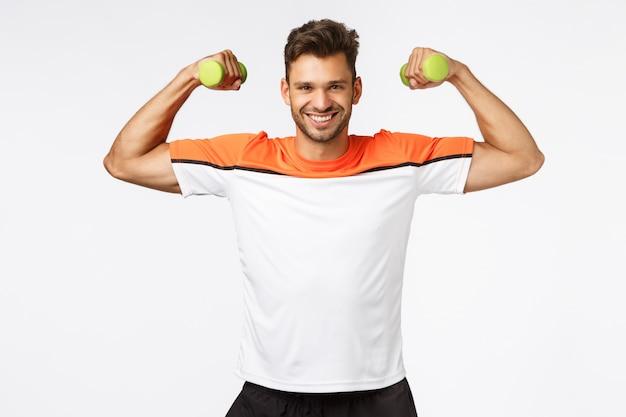 Sport, voeding en een gezonde levensstijl.