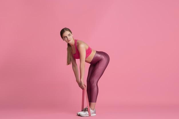 Sportief fit model met elastiek