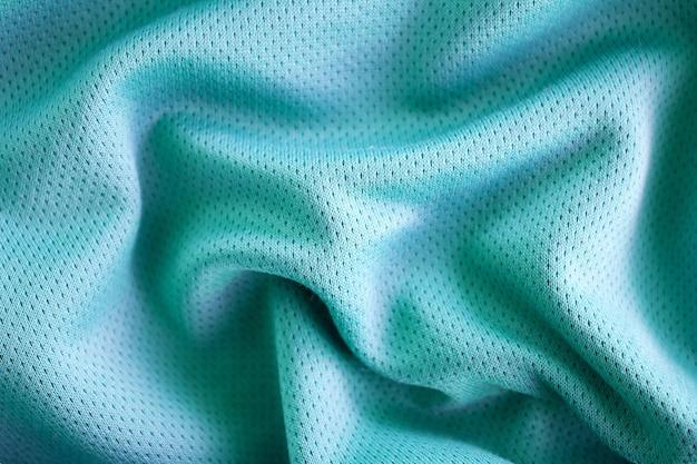 Sportkleding stof textuur achtergrond, bovenaanzicht van doek textiel oppervlak