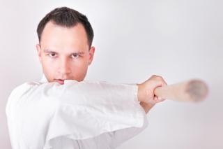 Sportman vaardigheid kungfu