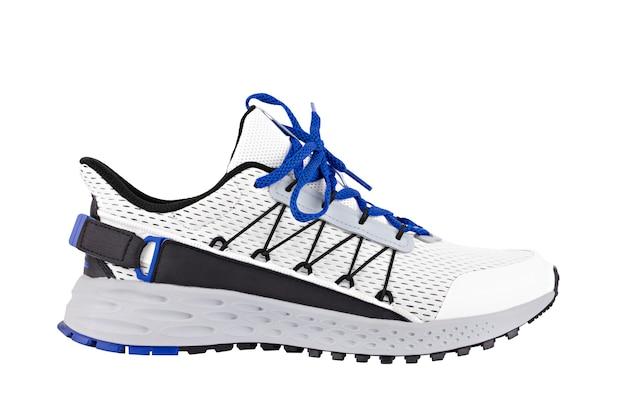 Sportschoenen wit met blauw isolaat