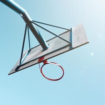 Sportuitrusting voor straatbasketbalhoepels