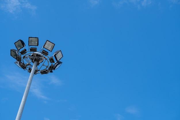 Spotlicht voor sport, verlichting