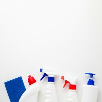 Spray flessen met kopie ruimte