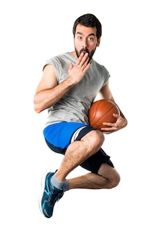Sprong gezondheidsbal basket kracht