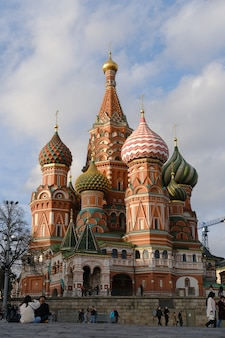 St. basil's cathedral in moskou