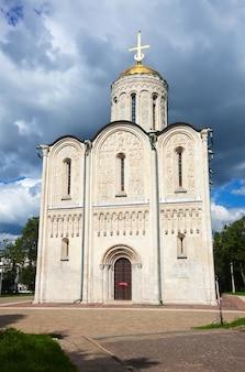 St. demetrius kathedraal in vladimir