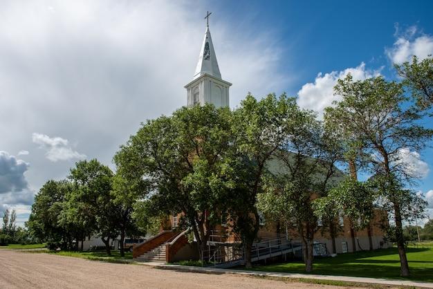 St. josephs parish in claybank, saskatchewan, canada