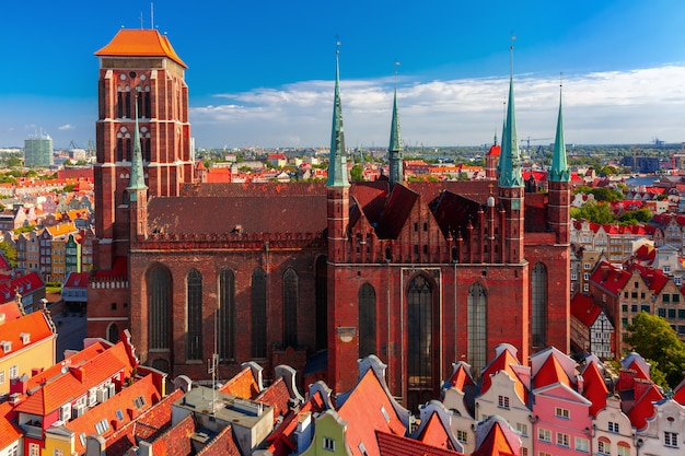 St mary church in gdansk, polen