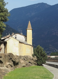 St orso-kapel in het dorp donnas