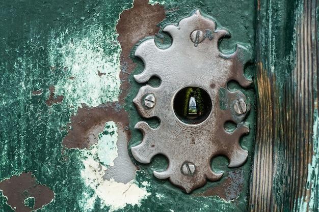 St. peter's basiliek van het sleutelgat op aventino hill, rome italië