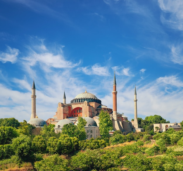 St. sophia kathedraal, istanbul, turkije