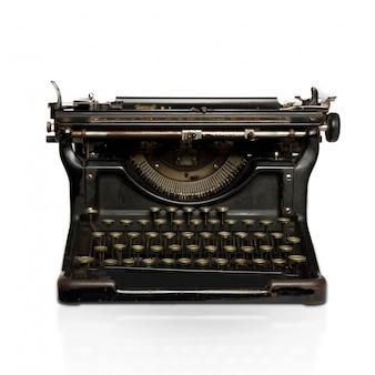 Staal schrijfmachine