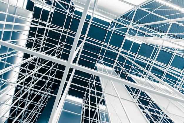 Staalstructuur van dakframe architectuur