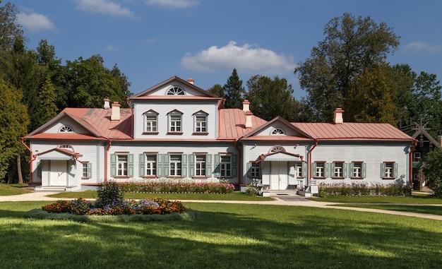 Staatsmuseum reserve abramtsevo herenhuis moskou regio rusland